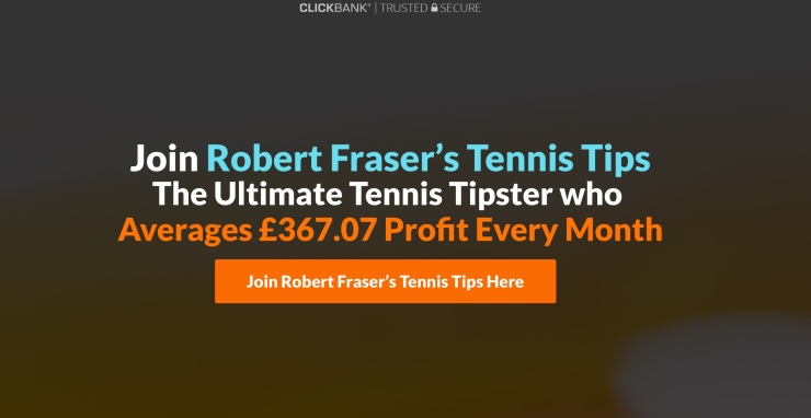 Robert Fraser Tennis Tipster Review